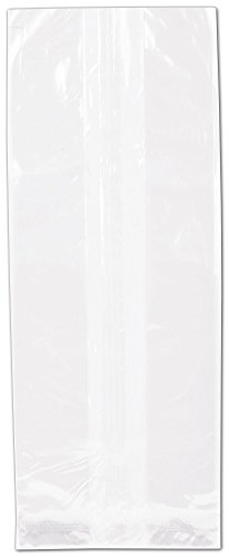 NatureFlex TM Biodegradable Clear Cello Bags (1000 Bags) - BOWS-69-12D by Miller Supply Inc