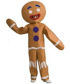 Gingerbread Boy Costumes (Gingerbread Man Child Costume)