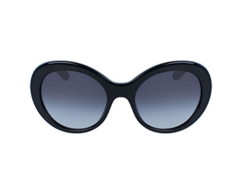 Dolce & Gabbana Uv Protection Sunglasses (Dolce & Gabbana Women's Acetate Woman Round Sunglasses, Black, 57 mm)