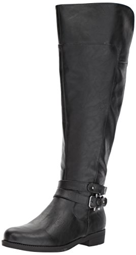 31cwgTV1RhL LifeStride Women's Delilah WC Equestrian Boot, Black, 8 M US