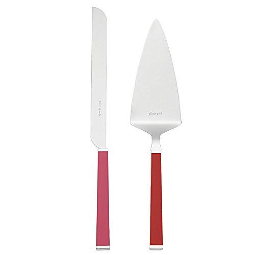 kate spade new york Juno Drive Dessert Set - Pink/Flame - 2 ct 854805
