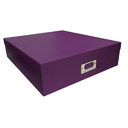 Pioneer Photo Albums Purple Scrapbooking Storage Box (Set of 6) by Pioneer Photo Albums (Image #1)