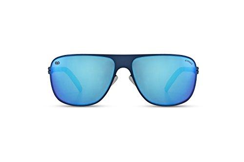 Bleu KYPERS 001 Lunettes taille de soleil unique Homme 88gRqa