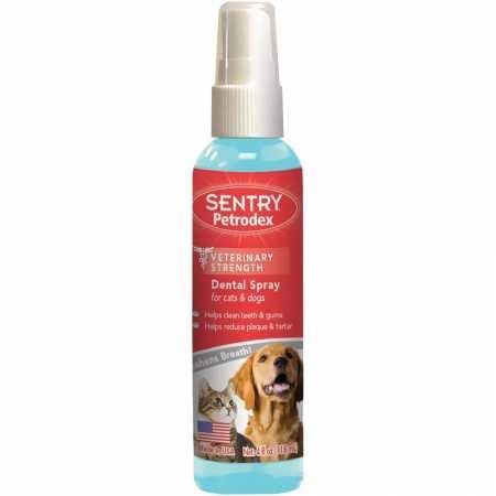 (Petrodex Dental Spray for Dog and Cat, 4-Ounce)