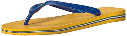 - Havaianas Women's Brazil Flip Flop Sandal,Banana Yellow, 41/42 BR(11-12 M US Women's / 9 M US Men's)