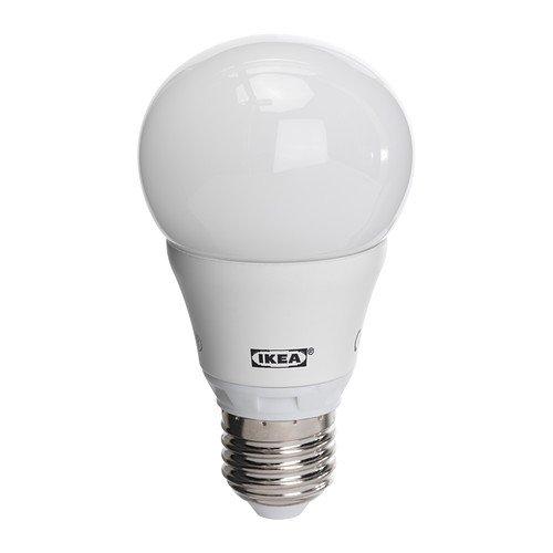 Ikea Led Lampe Ledare Led Energiesparlampe Warmweiß E27 6 3w