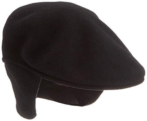 Kangol Wool 504 Earflap Black (Earflap Hats For Men)