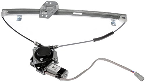 Motors Honda Window - Dorman 748-132 Front Passenger Side Power Window Regulator and Motor Assembly for Select Honda Models