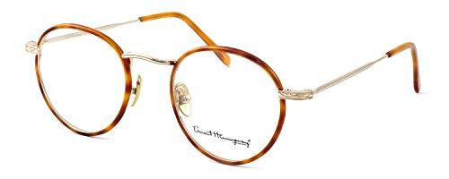 Ernest Hemingway Eyeglass Collection 4681 in Gold-Blonde ; Demo Lens