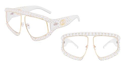 enormes gafas G139 C8 Unas mujer Protección gafas TL solar sol gradiente señoras de de Sunglasses C13 sol UV tonos UwxaqE