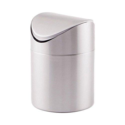 Cuisinox BIN17 Countertop Compost Bin, Silver