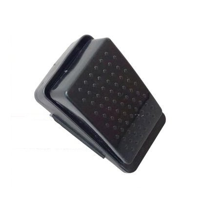Accelerator Foot Pedal Electric Switch Accessories for Kids Ride On Car Motorcycle Replacement Parts Black 6-pin Socket