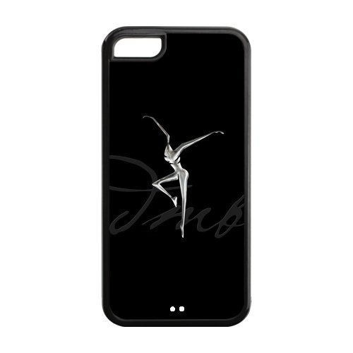 5C Phone Cases, DMB Fire Dancer Hard TPU Rubber Cover Case for iPhone 5C