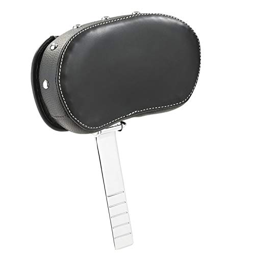 INDIAN GENUINE LEATHER DELUXE DRIVER BACKREST PAD ONLY BLACK 2879542-02 -  POLARIS