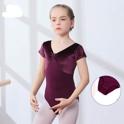 61ec56763cd7e Amazon.com: Sinchi Kuzo Professional Girls Ballet Leotard Short ...