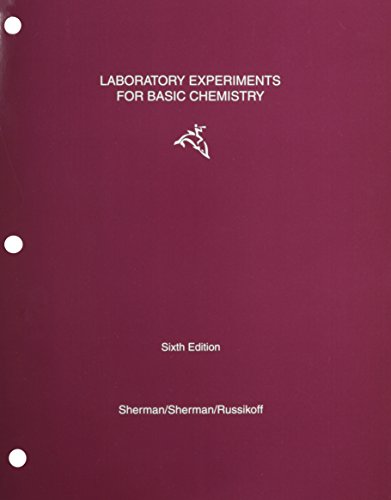 Laboratory Experiments for