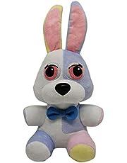 ZXCK Nightmare FNAF Freddy Fazbear Vijf Nachten En Bij Freddy Plushie Doll Konijn Animal for Kids 18 cm
