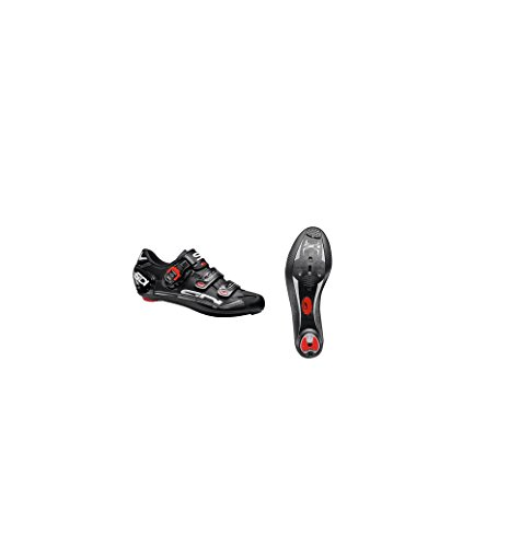 Sidi Genius Fit Carbon Shoes - Mens Black