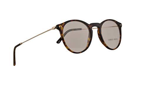 Giorgio Armani AR7161 Eyeglasses 50-20-140 Dark Havana w/Demo Clear Lens 5026 AR ()