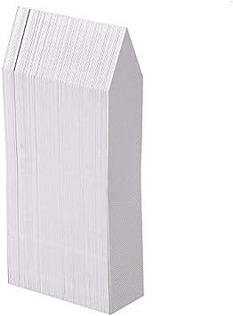 100 piezas de marcadores de etiquetas de plantas blancas, etiquetas de jardín de plantas de plástico blanco de 10x2 cm, marcadores de hierbas de jardín de vivero
