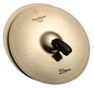 Zildjian A0753 16-Inch Classic Orchestral Selection Medium Heavy Pair - Heavy Orchestral Cymbal