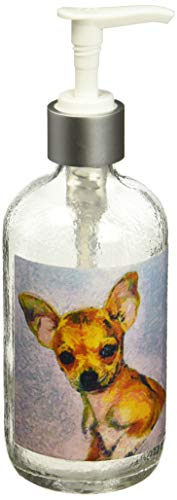 Doggy Lips Belle Glass soap Dispenser ()