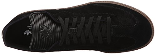 Adidas Performance Mens Samba Mc Lthr Shoe Nero / Nero / Oro Metallizzato