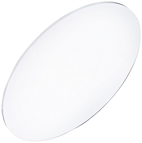 Acrylic Disc, Transparent Clear, 3