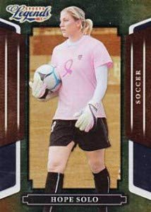 (2008 Donruss Sports Legends #114 Hope Solo - Women's Soccer Cards - Rookie Card)