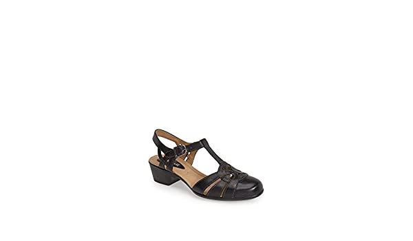 418004a4ee1 ROMIKA Barbados 05' Leather Pump Black Shoes: Amazon.ca: Shoes ...