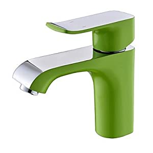 low-cost W&P Contemporary popular single painting a bathroom sink faucet holes