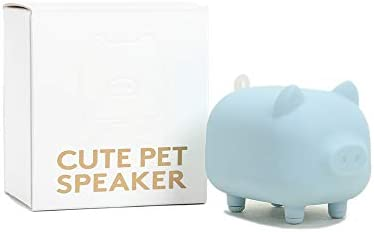 DSIEWELA Cute Mini Bluetooth Speaker,Animal Wireless Speaker with Powerful Rich Room-Filling Sound,5W Audio Driver,IPX5,Built-in Mic for iPhone iPad iPod Samsung HTC Tablets,Portable Bluetooth Speaker