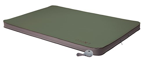 Exped MegaMat Duo 10 Self-Inflating Sleeping Pad, Green, Long Wide (Summit Bag Sleeping Spring)
