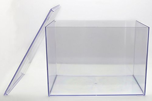 Clear Plastic Box - 12 1/2 ''L X 8 1/2 ''W X 8 1/2 ''H - 4 BOXES by Gary Plastic Packaging