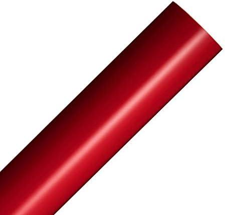 Rollo de vinilo reposicionable rojo mate 30x300cm Película ...