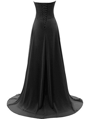 Bleu Couturebridal® Soirée Chiffon De Robe Cérémonie Cocktail Longue Femme Bustier HqHSpwTz