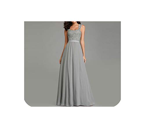 Long Ever Pretty Elegant A Line Sleeveless Backless Wedding Guest Dress Party Gown,EZ07704,8