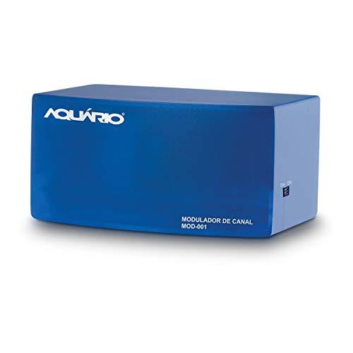 Modulador de Áudio e Vídeo Canal 3 e 4, Aquario MOD-001, Azul, Pequeno