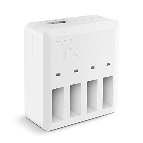 Large Product Image of Beyondsky 4 in 1 Tello Battery Multi Rapid Charger Intelligent Charging Hub US Plug For DJI Tello Drone