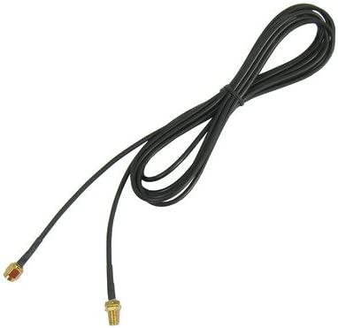 Cable Length: 3m Hardcover Edition RP-SMA Male to Female Cable 174 Antenna Extension Cable