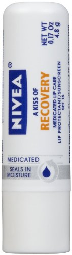 Nivea A Kiss de récupération Medicated Lip Care SPF 15 - 0,17 oz