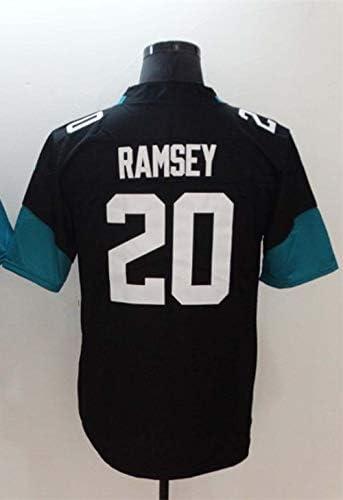 ラグビーユナイテッドメンズジャガージャクソンビルジャガー-20#RAMSEY, 27#FOURNETTE、Embroidered Fan Edition Rugby Jersey、Rugby Jersey、Rugby Football...