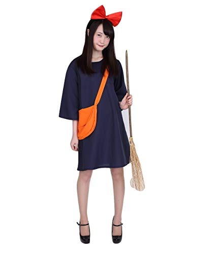 Anime Witch Dress Up (Fantasy Witch Kiki Dress Costume, Women's Standard)