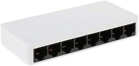 ギガビットイーサネットスイッチ 10/100 / 1000mbps 8ポート LANハブ