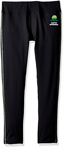 XX-Large Black GIII For Her NBA Atlanta Hawks Womens Warm Up Leggings