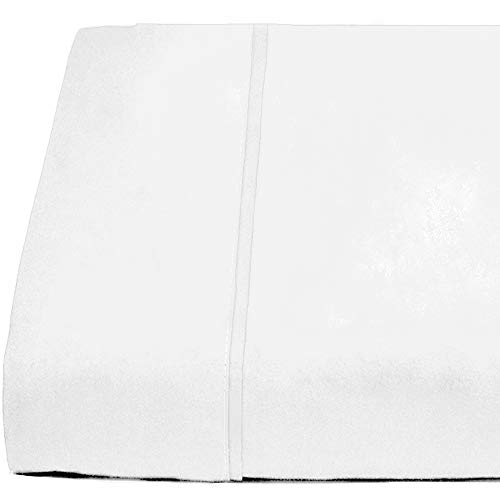 Bare Home Flat Top Sheet Premium 1800 Ultra-Soft Microfiber