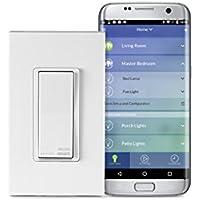 Leviton DW15S-1BZ Decora Smart Wi-Fi 15A LED/Incandescent...