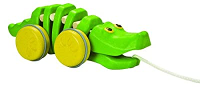 Plan Toys Preschool Dancing Alligator Pull Along Toy from Plan Toys