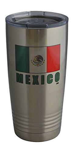 Funny Mexico Flag 20 Oz.Stainless Steel Travel Tumbler Mug Cup w/Lid Vacuum Insulated Hot or Cold