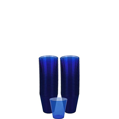 (Big Party Pack Bright Royal Blue Shot Glasses | 2 oz. | Pack of 100 | Party Supply)